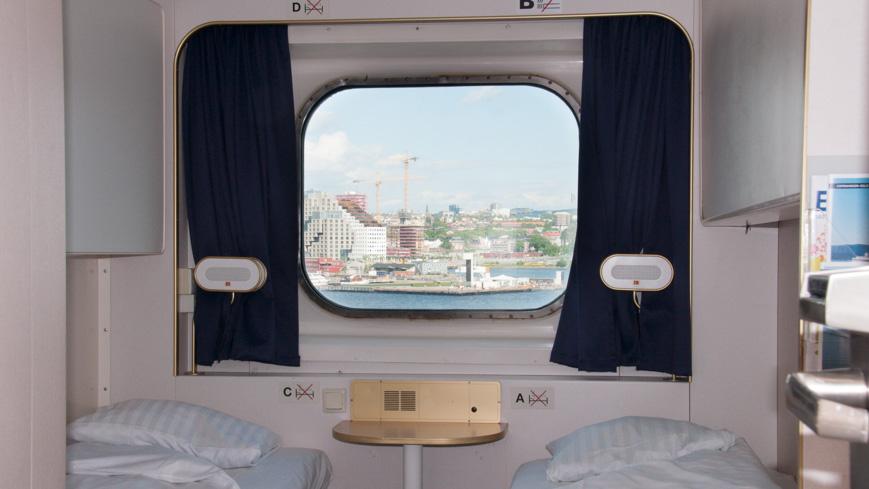 Bild: DFDS Pearl Außenkabine