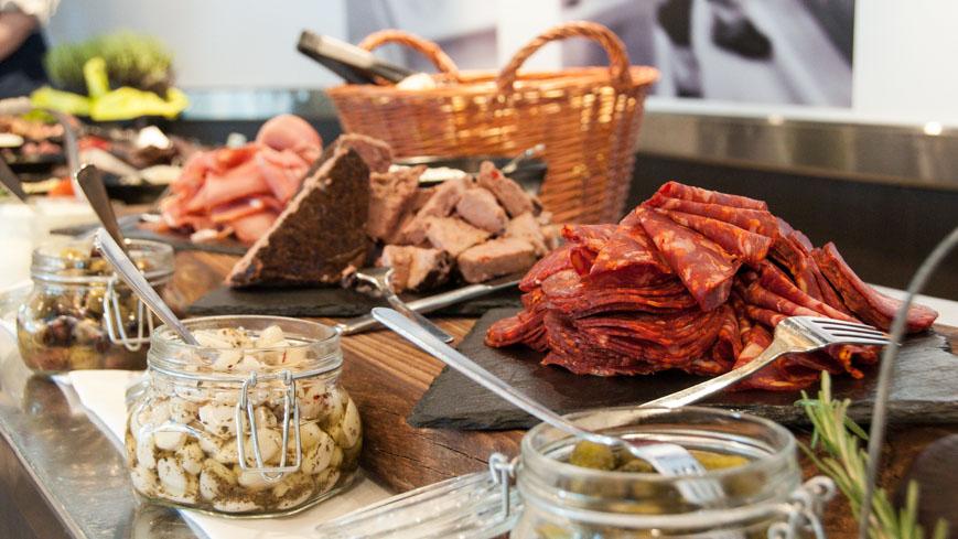 Bild: DFDS Restaurant Fleisch