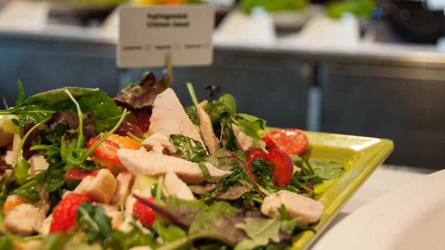 Bild: DFDS Restaurant - Salat
