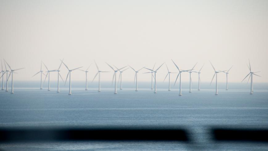 Bild: Offshore Windpark Kopenhagen - Malmö