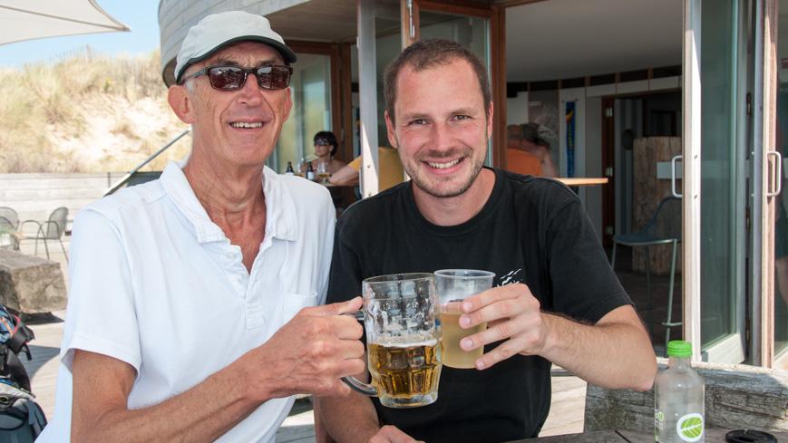 Bild: Belgian Coast Greeter Erik und ich