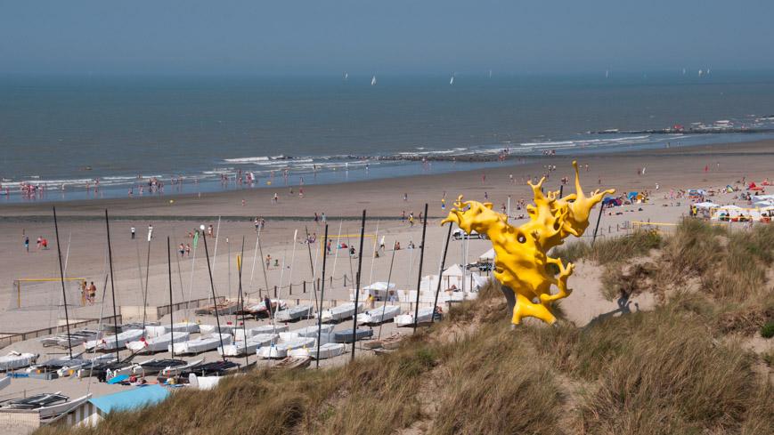 Bild: Strand in Bredene