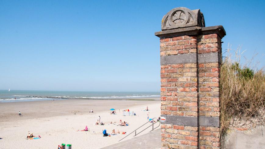 Bild: Strand Ostende