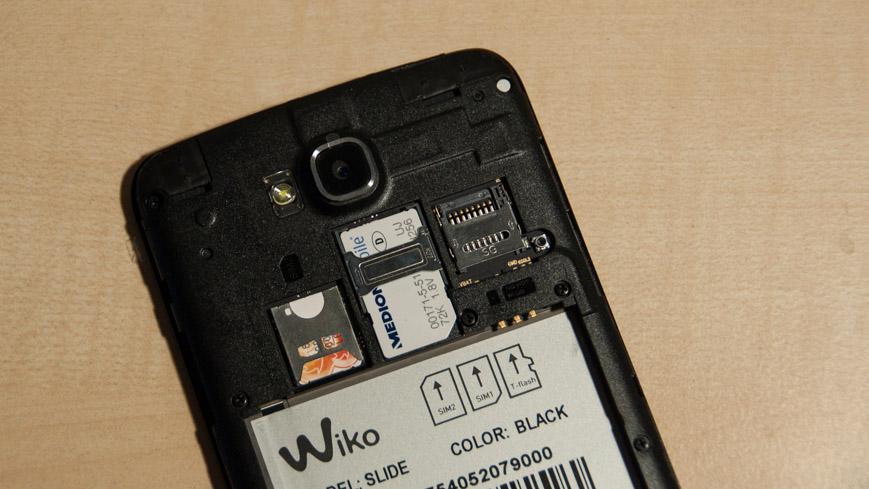 WIKO Slide: Praktisches Smartphone für Reisende und