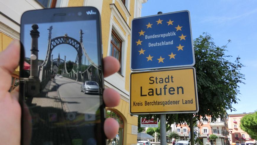 Bild: WIKO Slide an der Grenze