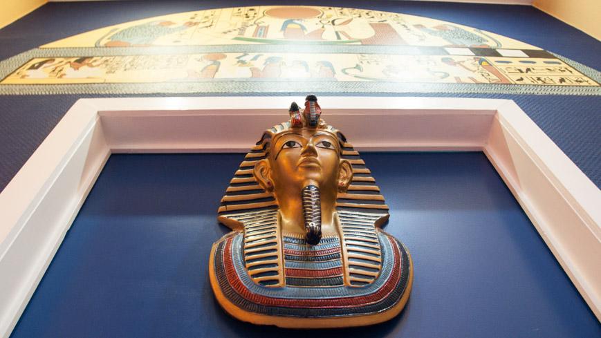 Bild: Türe nach Ägypten im Hotel Welcome in Brüssel
