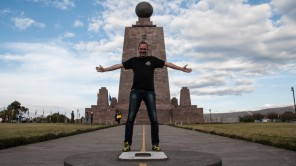 Bild: Mitad del Mondo - Äquator Monument