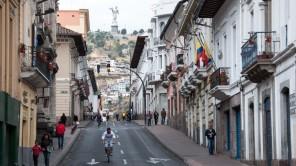 Bild: Straße in Quito