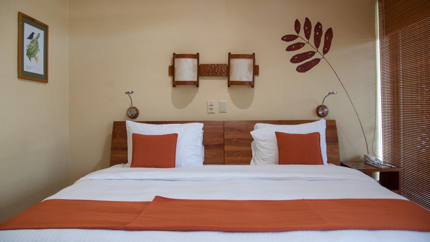 Bild: Zimmer im Finch Bay Hotel in Puerto Ayora auf den Galapagos Inseln