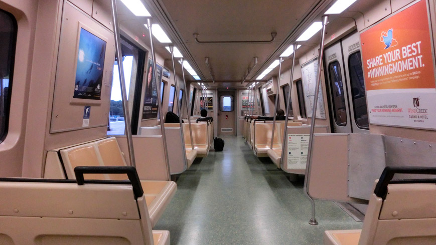 Bild: Metro-Zug in Atlanta