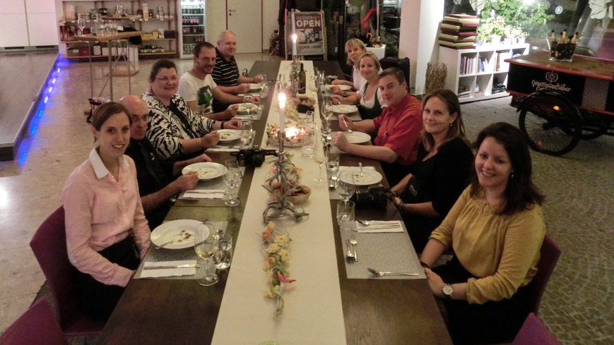 Bild: Reiseblogger im Cook and Wine