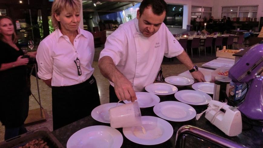 Bild: Suppe beim Kochkurs im Cook and Wine