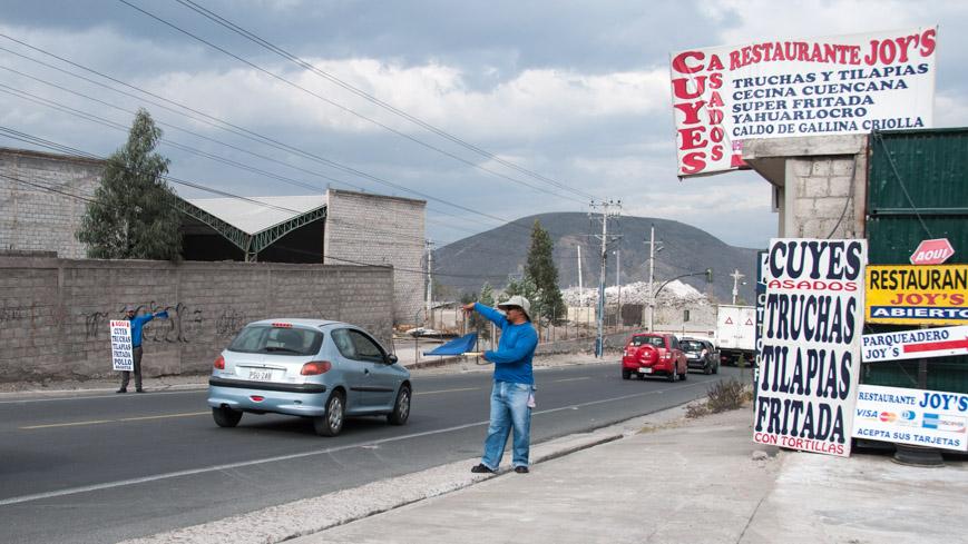 Bild: Meerschweinchen-Restaurant in Quito