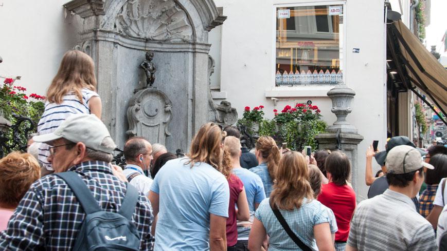 Bild: Manneken Pis in Brüssel