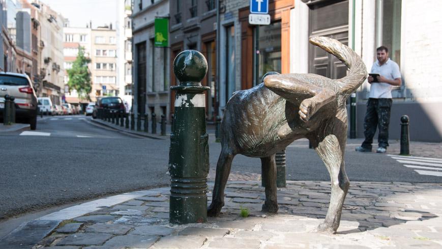 Bild: Zinneke Pis in Brüssel