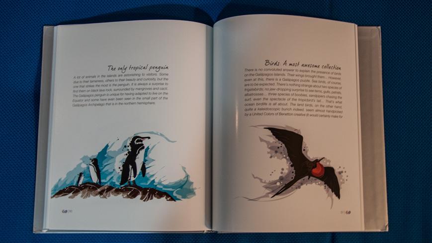 Bild: Buch von Galapagosinseln