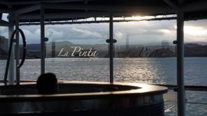 """Bild: Sonnenuntergang auf der """"La Pinta"""""""