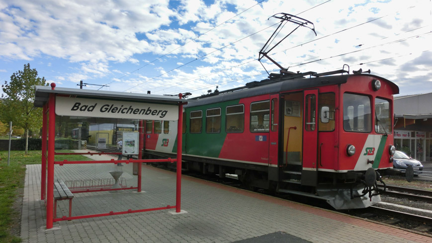 Bild: STLB Bahnhof in Bad Gleichenberg