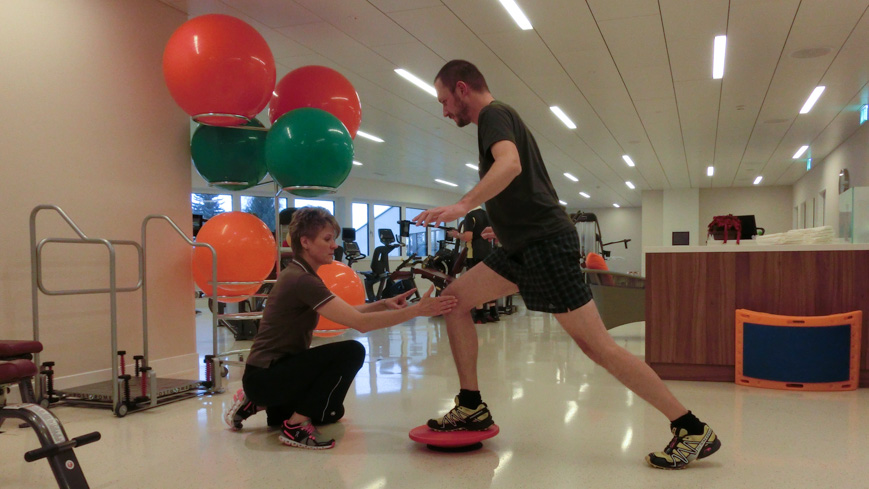 Bild: Personal Training in Oberwaid