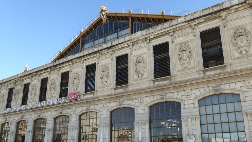 Bild: Bahnhof Marseille (c) Gudrun Krinzinger