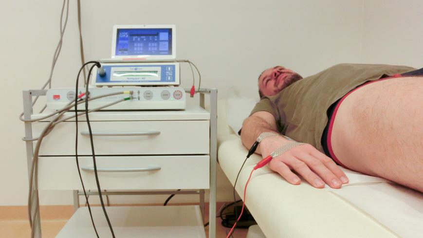 Bild: BIA - Analyse der Körperzusammensetzung im Kurzentrum Oberwaid