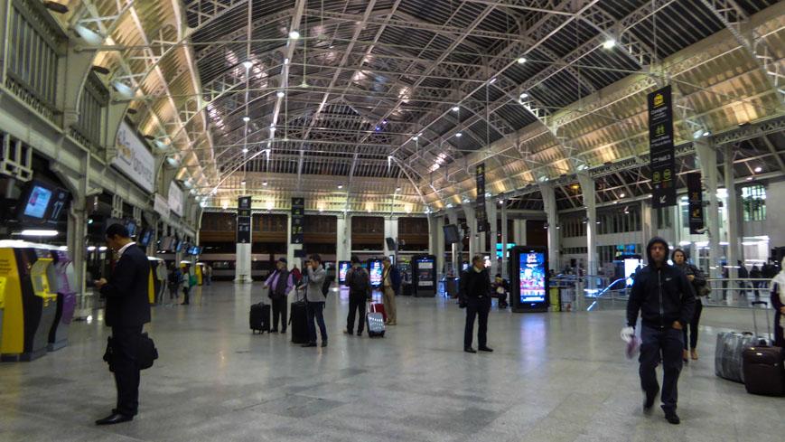 Bild: Gare de Lyon in Paris (c) Gudrun Krinzinger