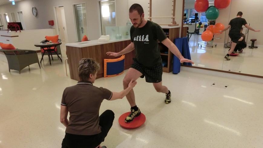 Bild: Personal Training im Kurhaus Oberwaid