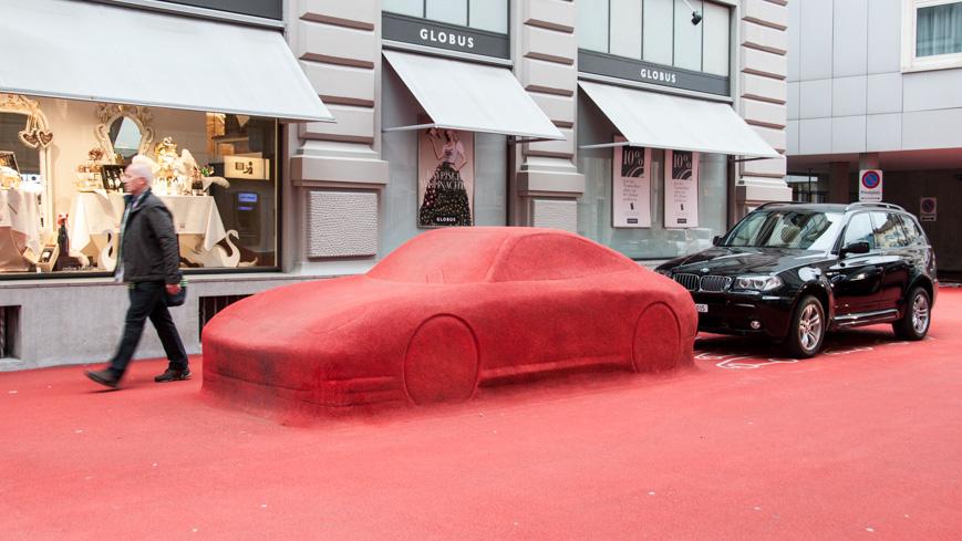 Bild: Roter Platz in St. Gallen