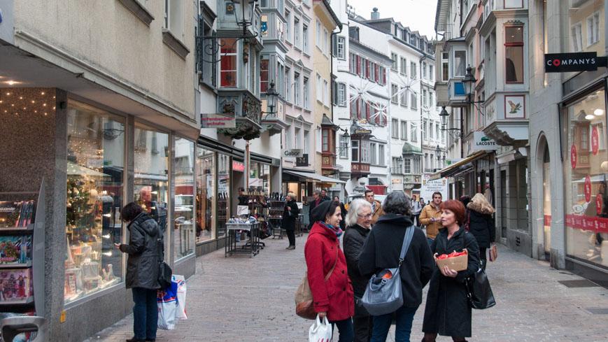 Bild: Spisergasse in St. Gallen