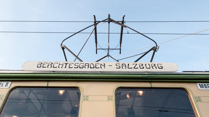Bild: Grüne Elektrische Berchtesgaden - Salzburg
