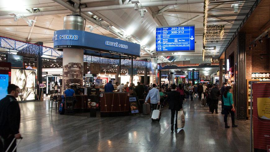 Bild: Flughafen Istanbul