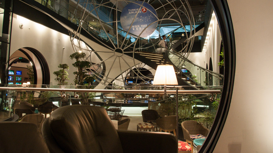 Bild: Turkish Airlines Lounge (THY-Lounge) in Istanbul