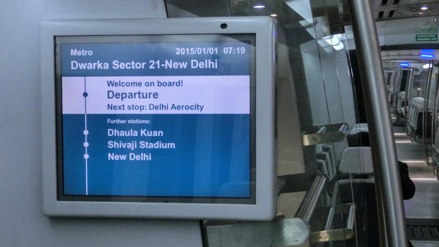 Bild: Delhi Airport Metro Express