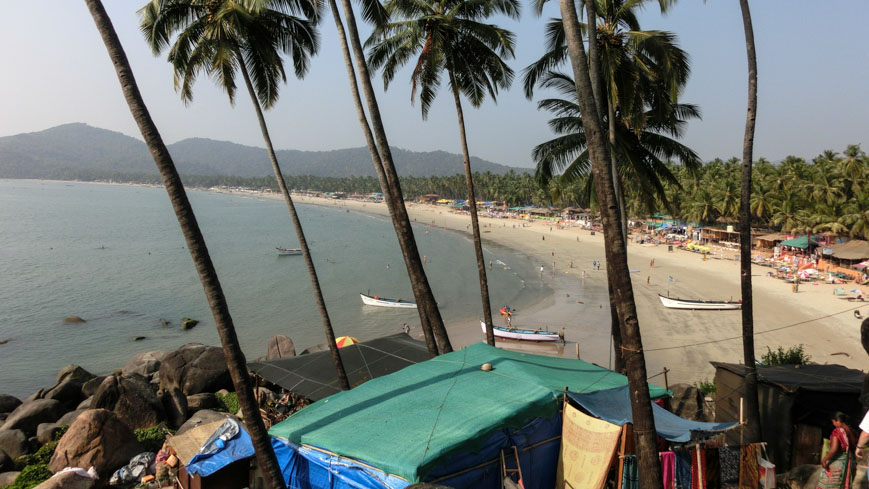 Bild: Palolem Beach in Goa