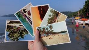 Bild: Ansichtskarten aus Palolem in Goa