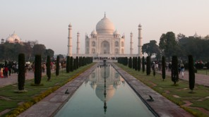 Bild: Taj Mahal in Uttar Pradesh