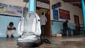 Bild: Gepäckaufbewahrung Indian Railways