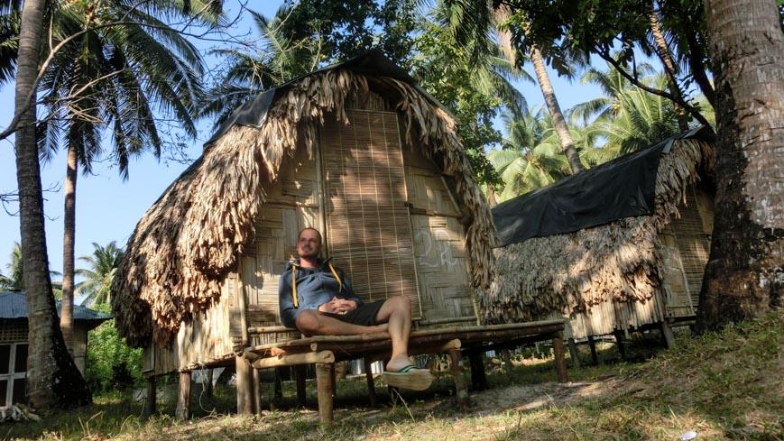 Bild: Frame Hut bei Barefoot Scubadiving auf Havelock/Andamanen