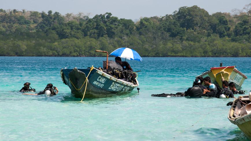 Bild: Tauchkurs bei Barefoot Scubadiving auf den Andamanen (Havelock)