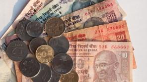Bild: Indische Rupien