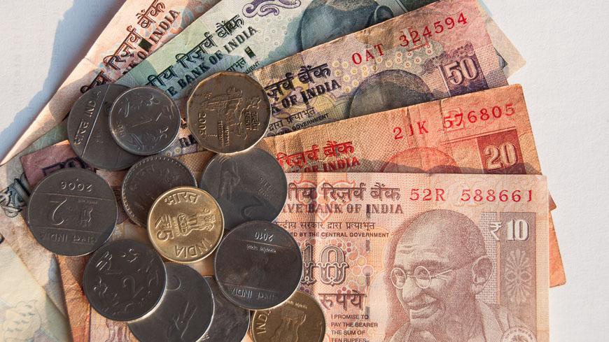 Indische Rupien Euro