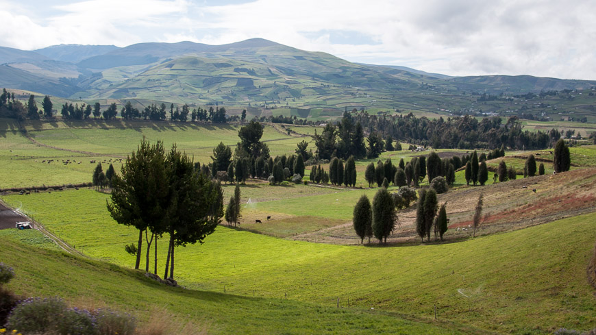 Bild: Landschaft in Ecuador