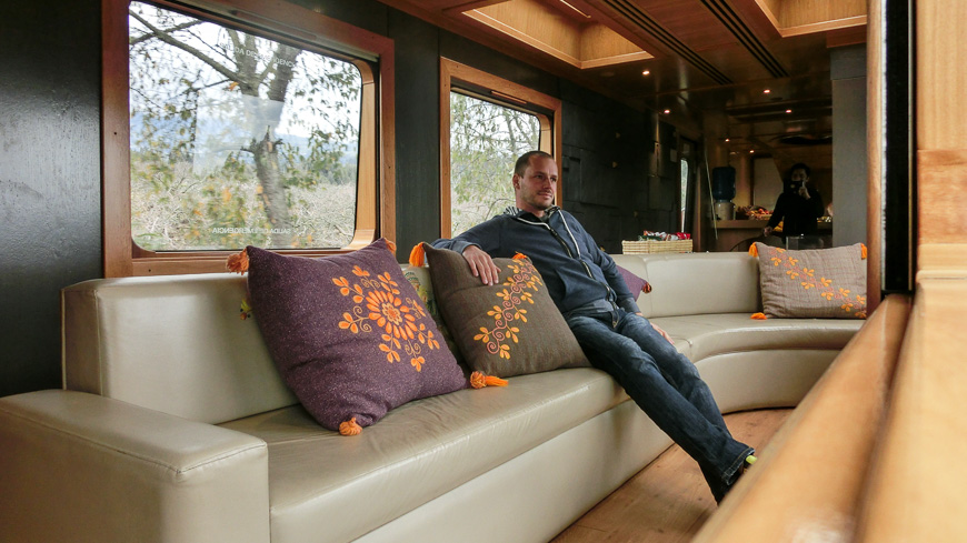 Bild: Waggon im Tren Crucero