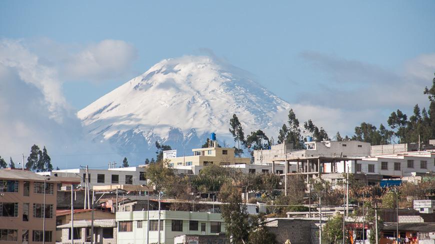 Bild: Cotopaxi bei Latacunga