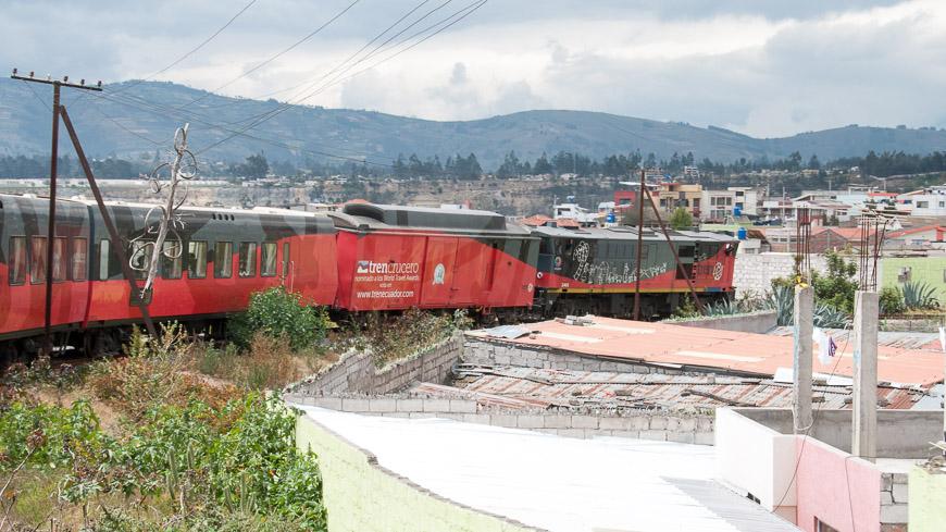 Bild: Tren Crucero in Ambato