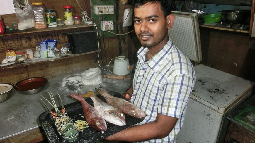 Bild: Fisch im Golden Spoon