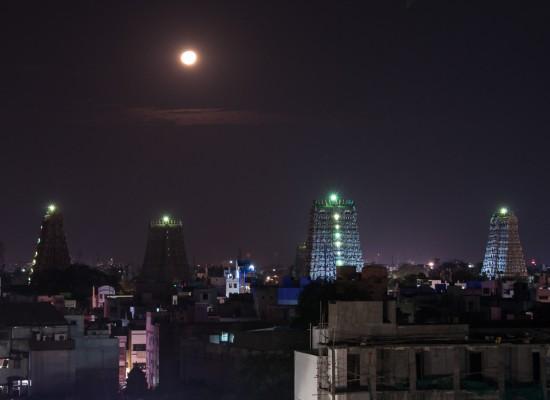 Bild: Tempel in Madurai