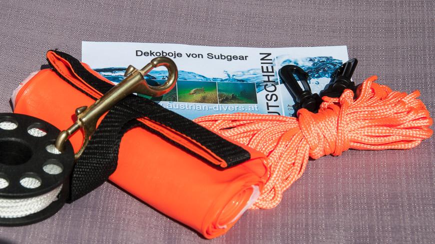 Bild: Subgear Dekoboje von Austrian Divers