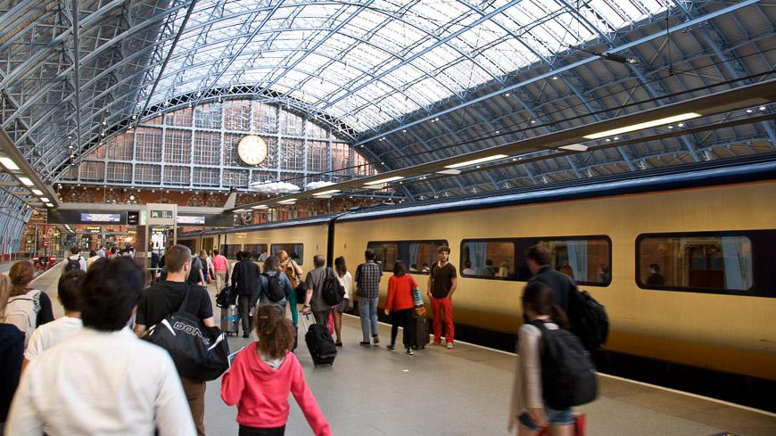 Bild: Bahnhof London St. Pancras International