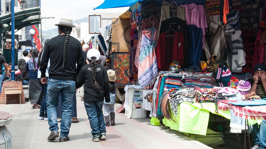 Bild: Markt in Otavalo